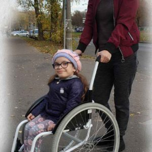Детская инвалидная коляска модель AT-D