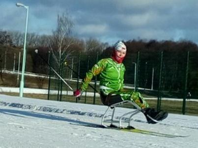санки для беговых лыж
